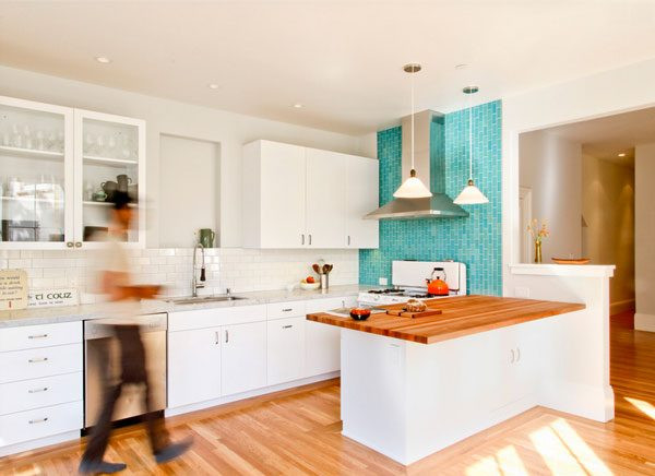 Best ideas about Kitchen Accent Wall . Save or Pin 9 Accents Wall Colors That Can Spice Up Any Kitchen Now.