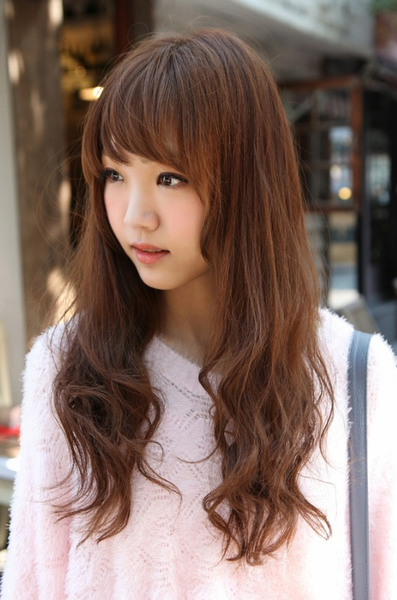 Best ideas about Korean Hairstyle Female . Save or Pin Korean Girls Long Hairstyle Hairstyles Weekly Now.