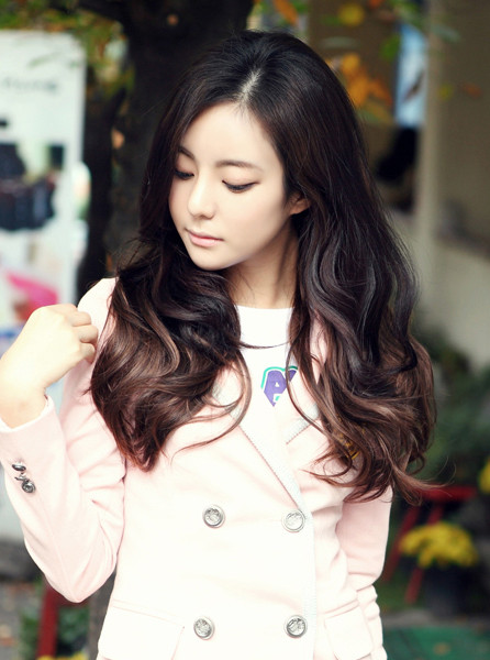 Best ideas about Korean Hairstyle Female . Save or Pin Korean Long Haircut 2013 Black hairstyle Now.