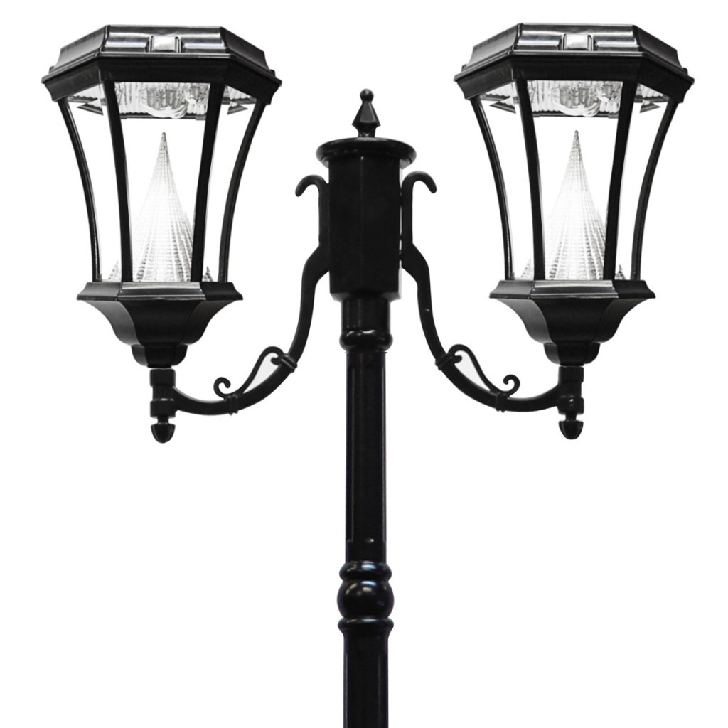 Best ideas about Lamp Post Lights . Save or Pin Gama Sonic Victorian Dual Solar Light Posts Solar Lamp Now.