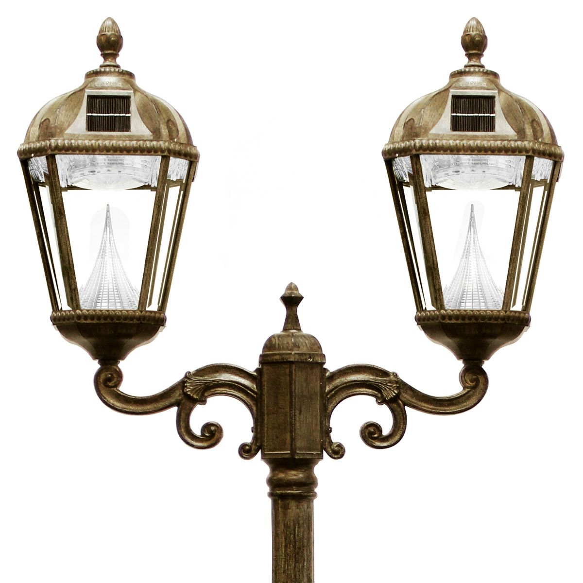 Best ideas about Lamp Post Lights . Save or Pin Royal Solar Lamp Series – Double Lamp Post GS 98D Now.