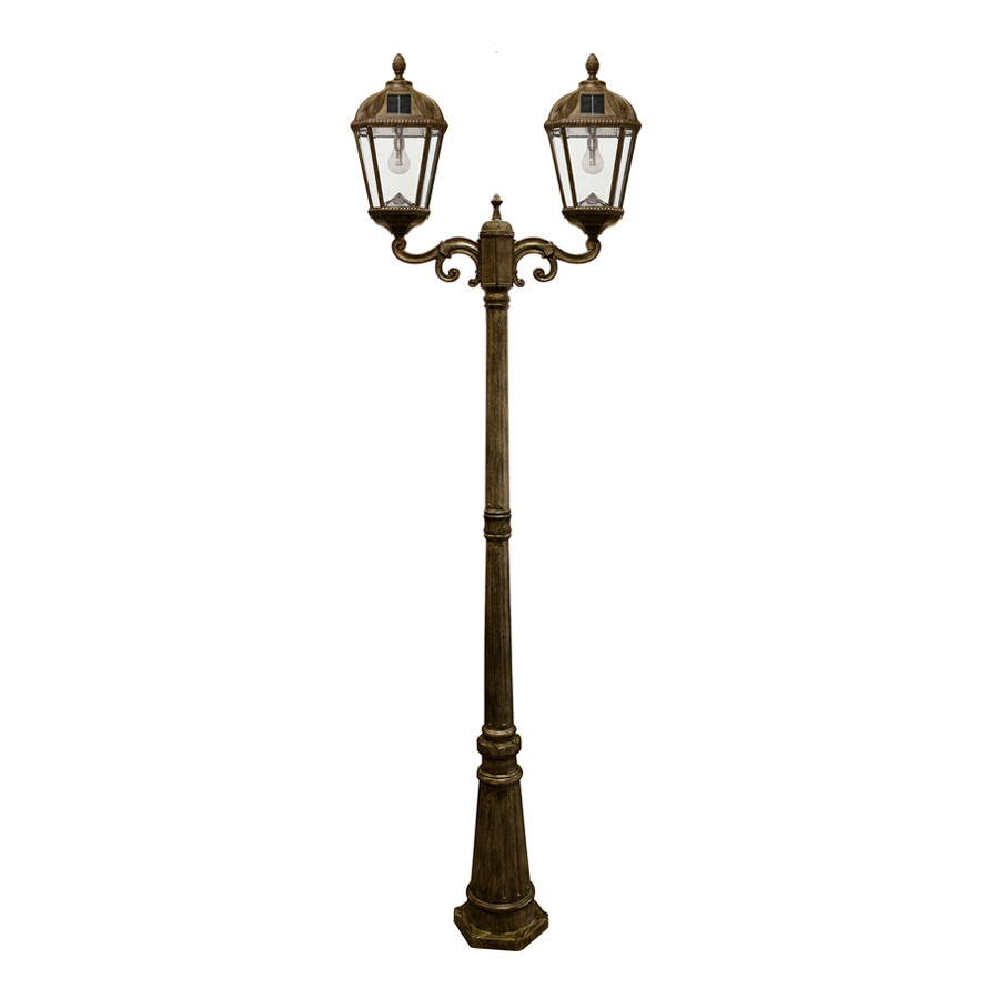 Best ideas about Lamp Post Lights . Save or Pin Royal Bulb Double Solar Lamp with GS Solar LED Light Bulb Now.