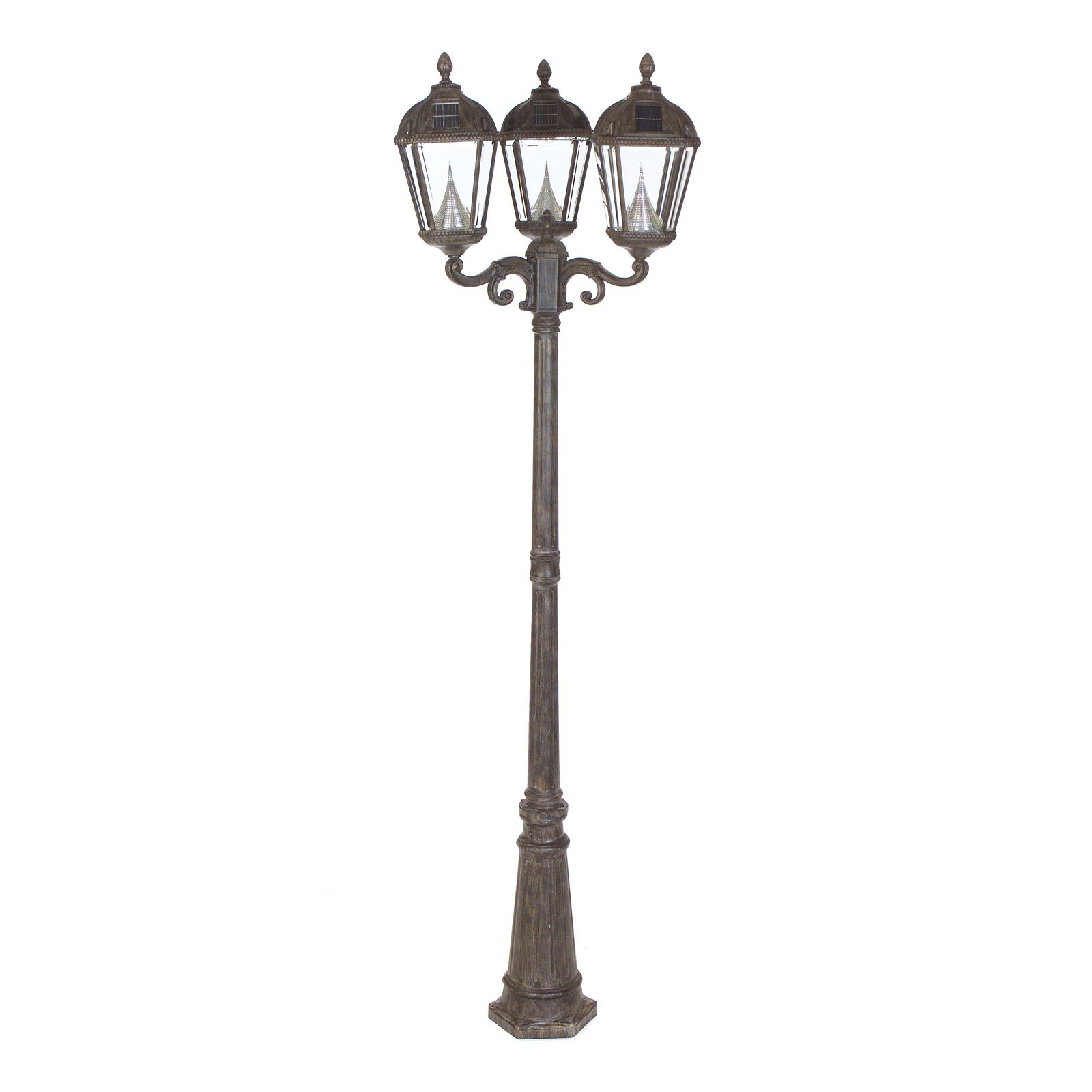 Best ideas about Lamp Post Lights . Save or Pin Gama Sonic Royal Triple Light Solar Lamp Post Solar Post Now.