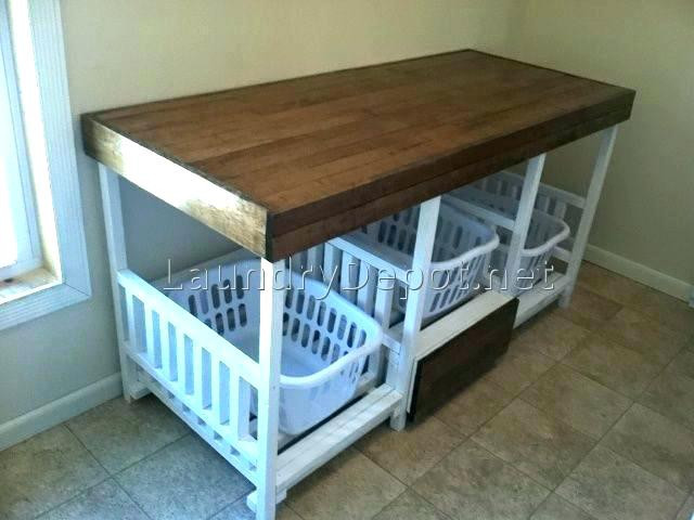 Best ideas about Laundry Folding Table Ikea . Save or Pin Laundry Table Ikea Laundry Folding Table Station Fold Down Now.