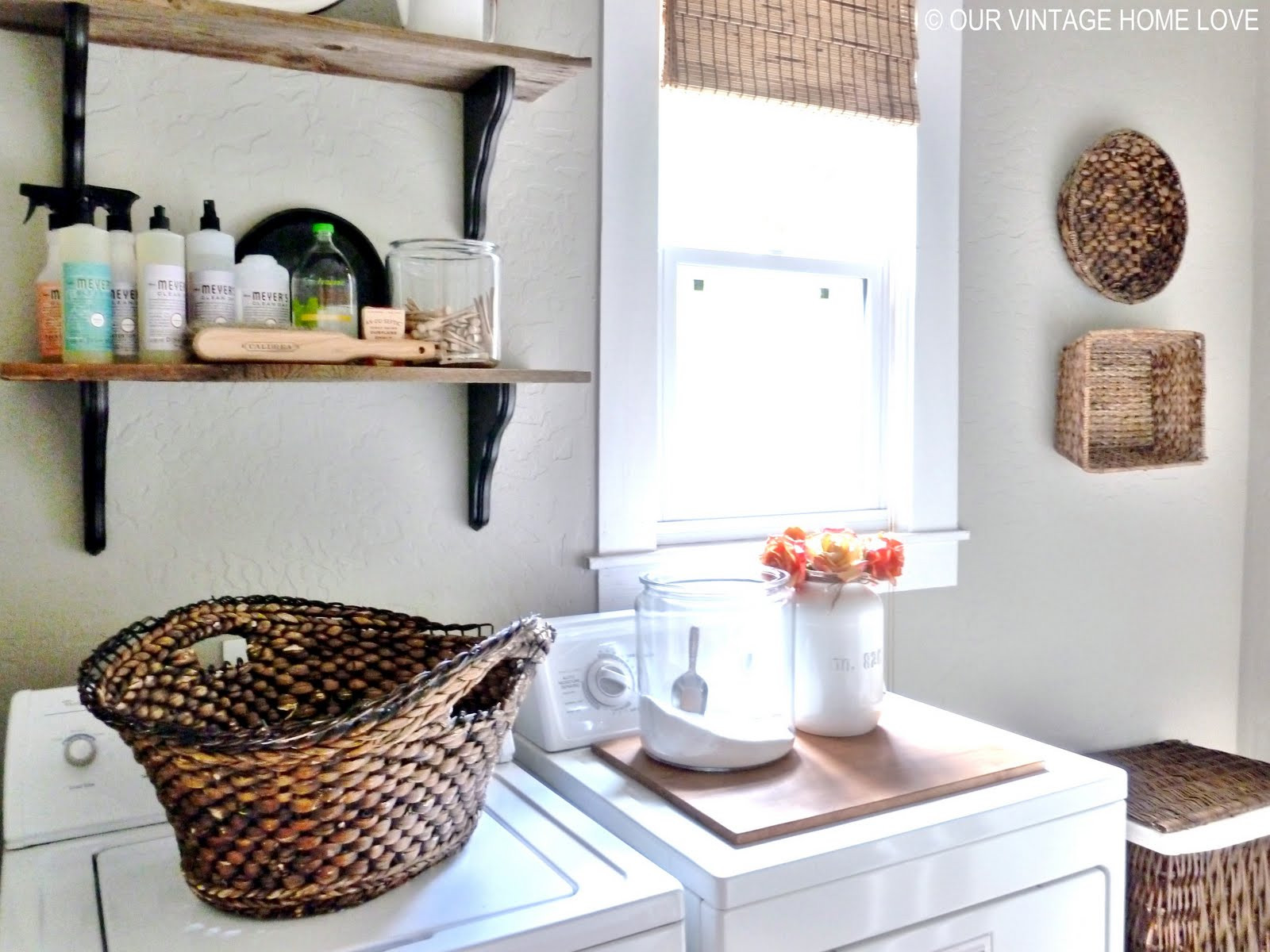Best ideas about Laundry Room Accessories . Save or Pin vintage home love Laundry Room Ideas and a Vintage Now.