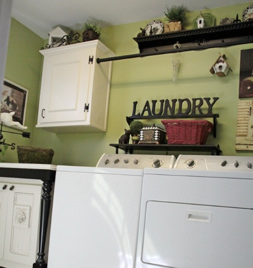 Best ideas about Laundry Room Accessories . Save or Pin 15 Laundry Room Wall Decor Ideas with Low Bud Now.