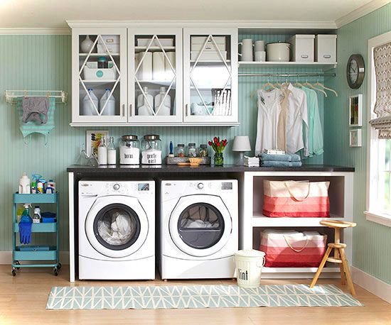 Best ideas about Laundry Room Accessories . Save or Pin Laundry Room Decor Ideas For Small Spaces Small House Decor Now.