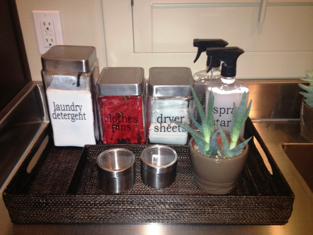 Best ideas about Laundry Room Accessories . Save or Pin A Reader's Laundry Room Makeover Now.