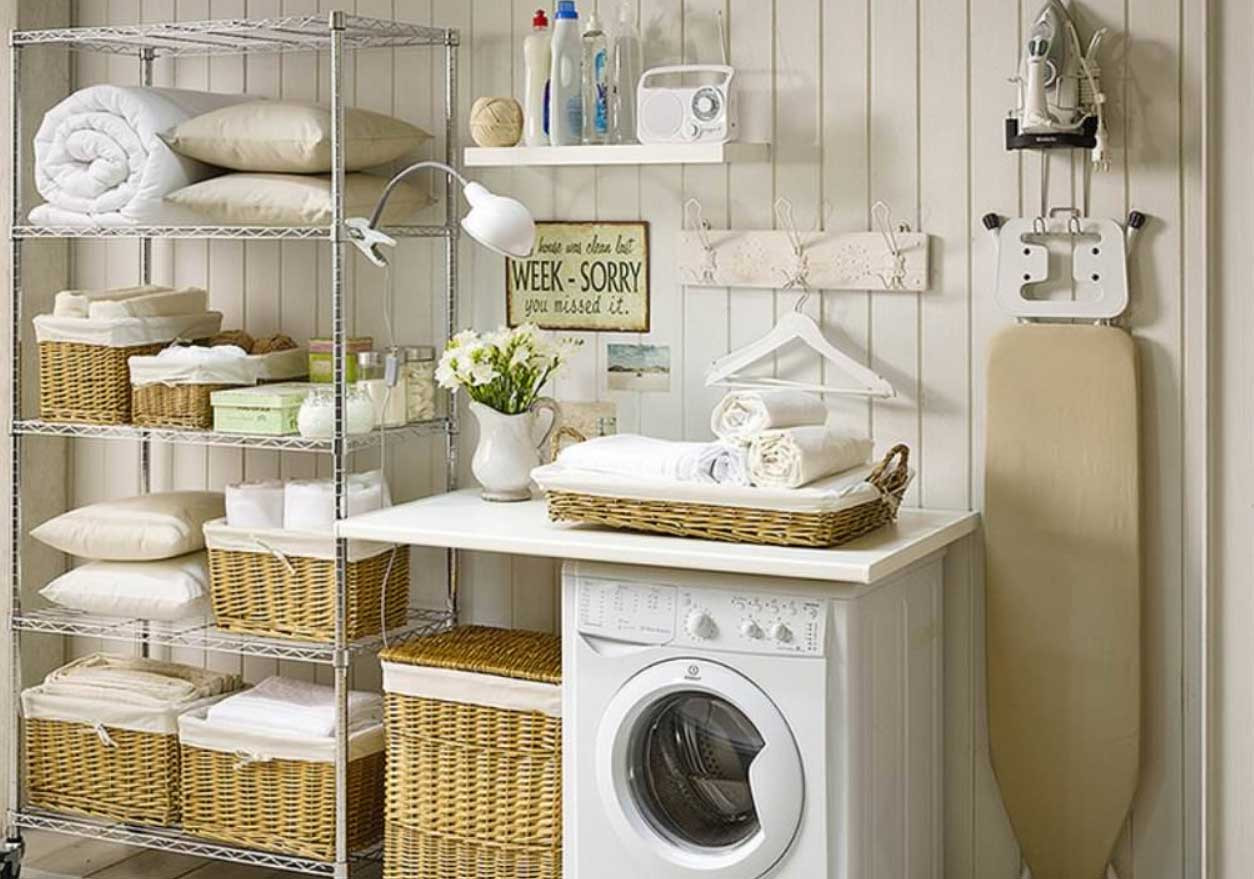 Best ideas about Laundry Room Accessories . Save or Pin Old Fashioned Laundry Room Decor Ideas Now.
