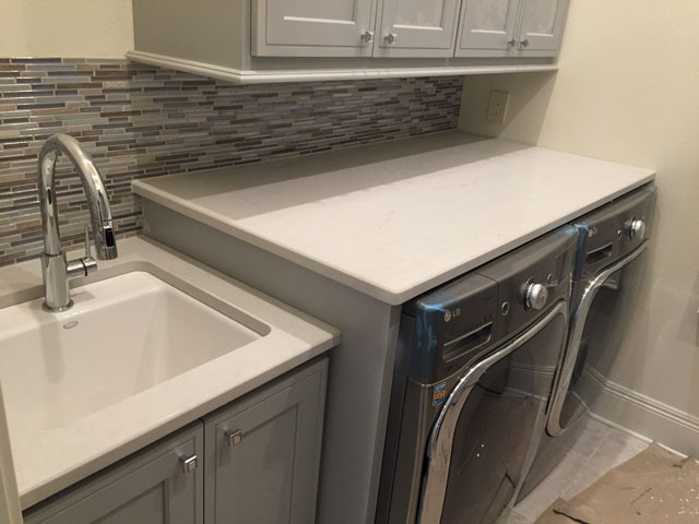 Best ideas about Laundry Room Countertop . Save or Pin Luxury Countertops Blog 7 Laundry Rooms that Will Draw Now.