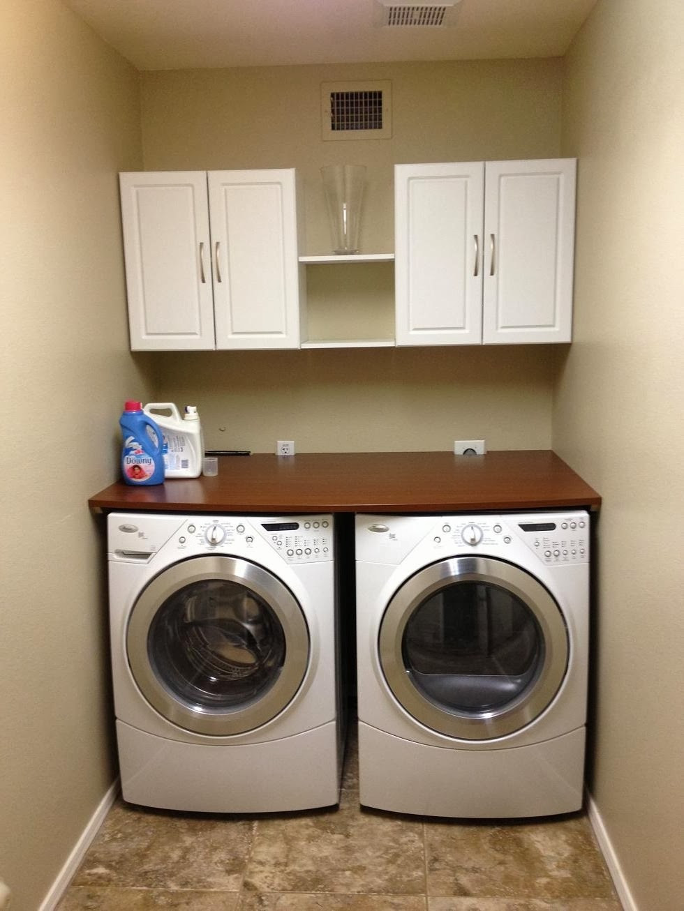 Best ideas about Laundry Room Countertop . Save or Pin Hesselblogger Laundry Room Now.