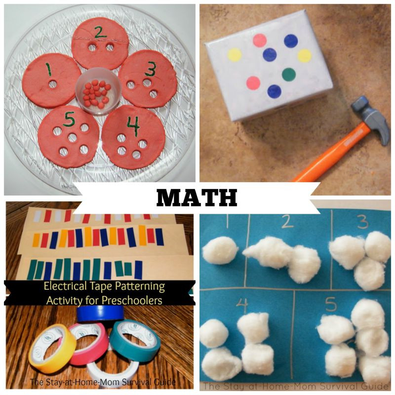 Best ideas about Learning Crafts For Preschoolers . Save or Pin 40 Activities for Preschool at Home Now.