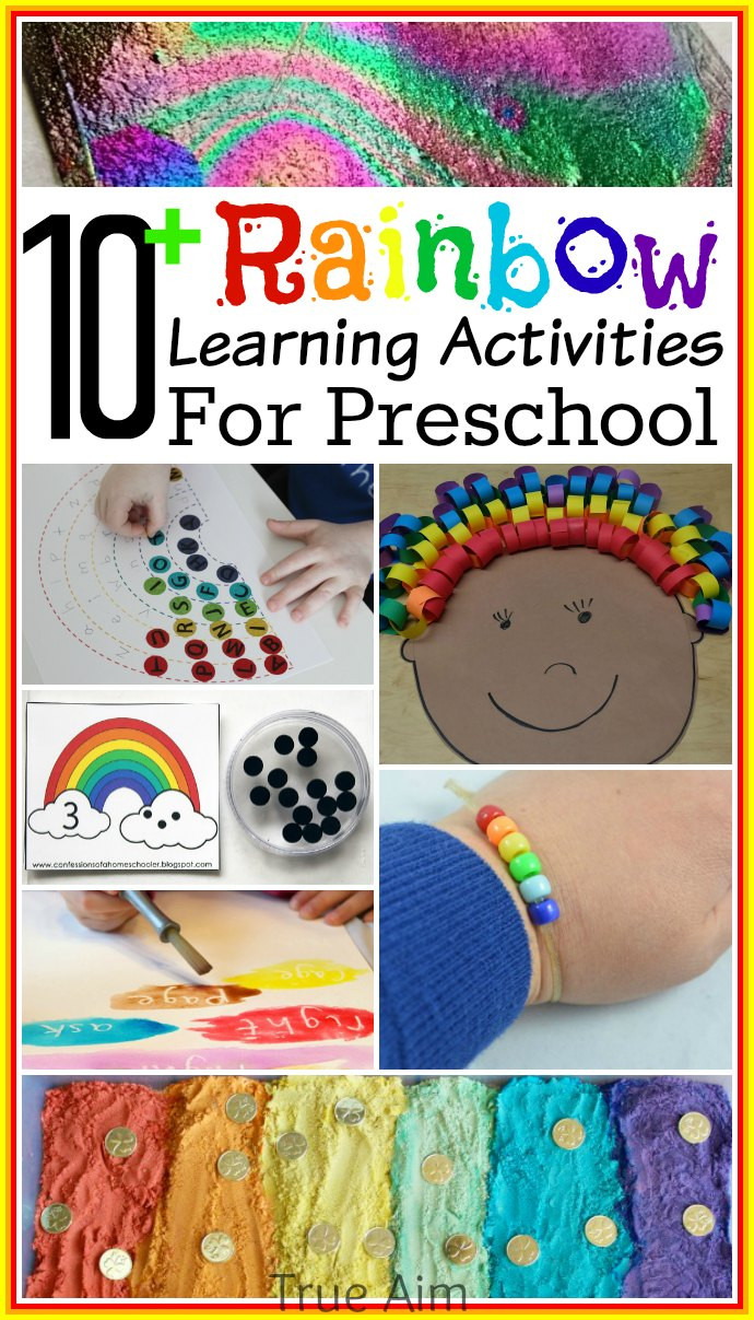 Best ideas about Learning Crafts For Preschoolers . Save or Pin 10 Preschool Rainbow Learning Activities and Mom s Now.