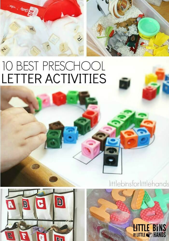 Best ideas about Learning Crafts For Preschoolers . Save or Pin Letter Activities for Early Learning Preschool Literacy Now.