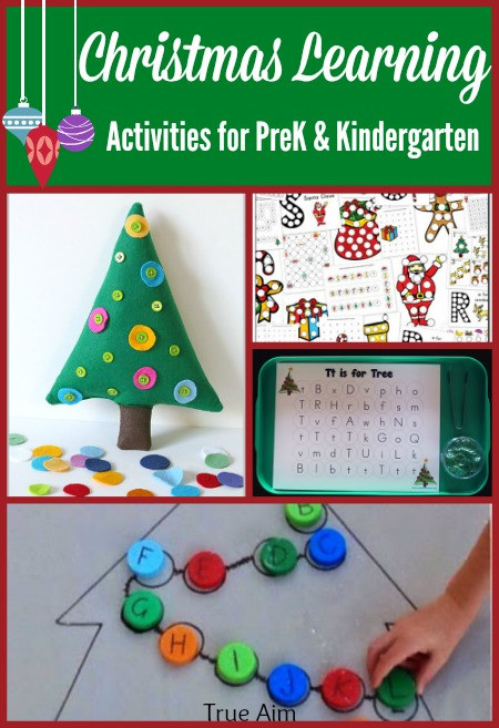 Best ideas about Learning Crafts For Preschoolers . Save or Pin Preschool & Kindergarten Christmas Learning Activities and Now.
