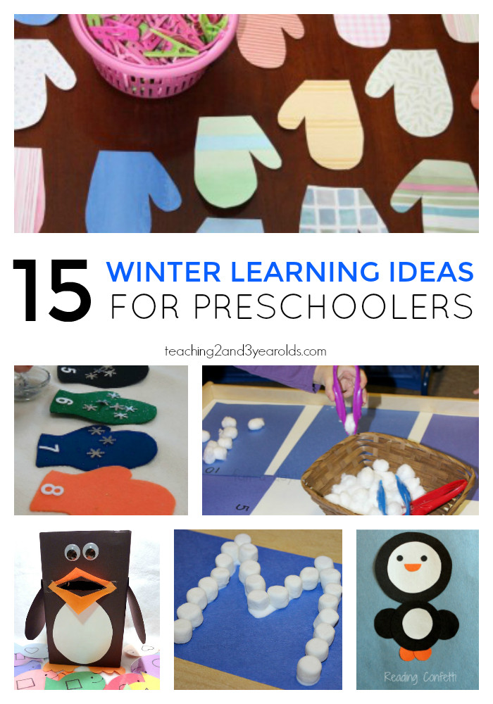 Best ideas about Learning Crafts For Preschoolers . Save or Pin 15 Winter Learning Activities for Preschoolers Now.