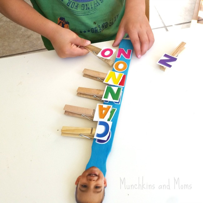 Best ideas about Learning Crafts For Preschoolers . Save or Pin 45 Awesome Name Activities for Preschoolers How Wee Learn Now.