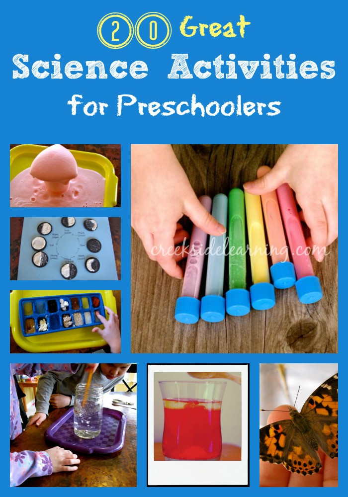 Best ideas about Learning Crafts For Preschoolers . Save or Pin 20 Great Science Activities for Preschoolers Now.