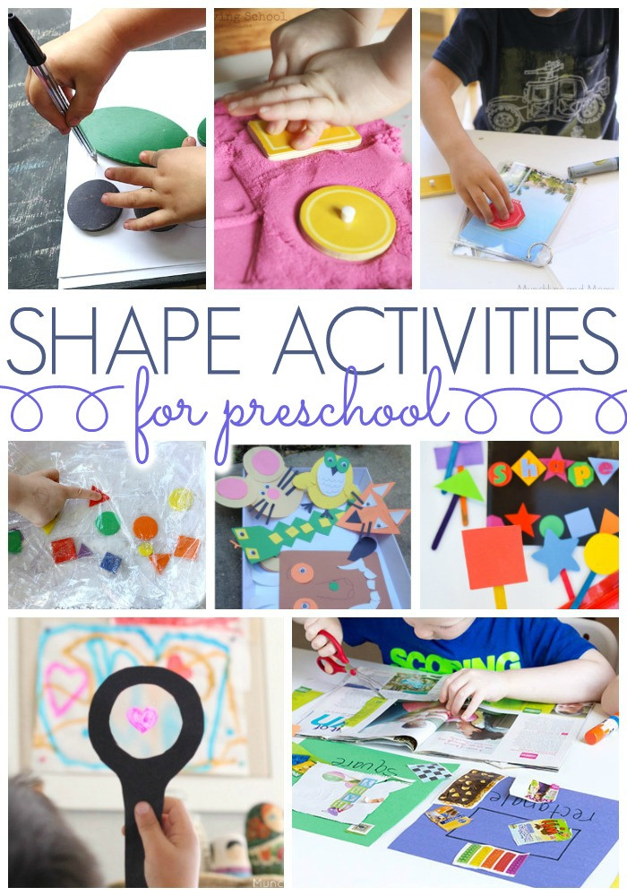 Best ideas about Learning Crafts For Preschoolers . Save or Pin Shapes Activities for Preschoolers Pre K Pages Now.