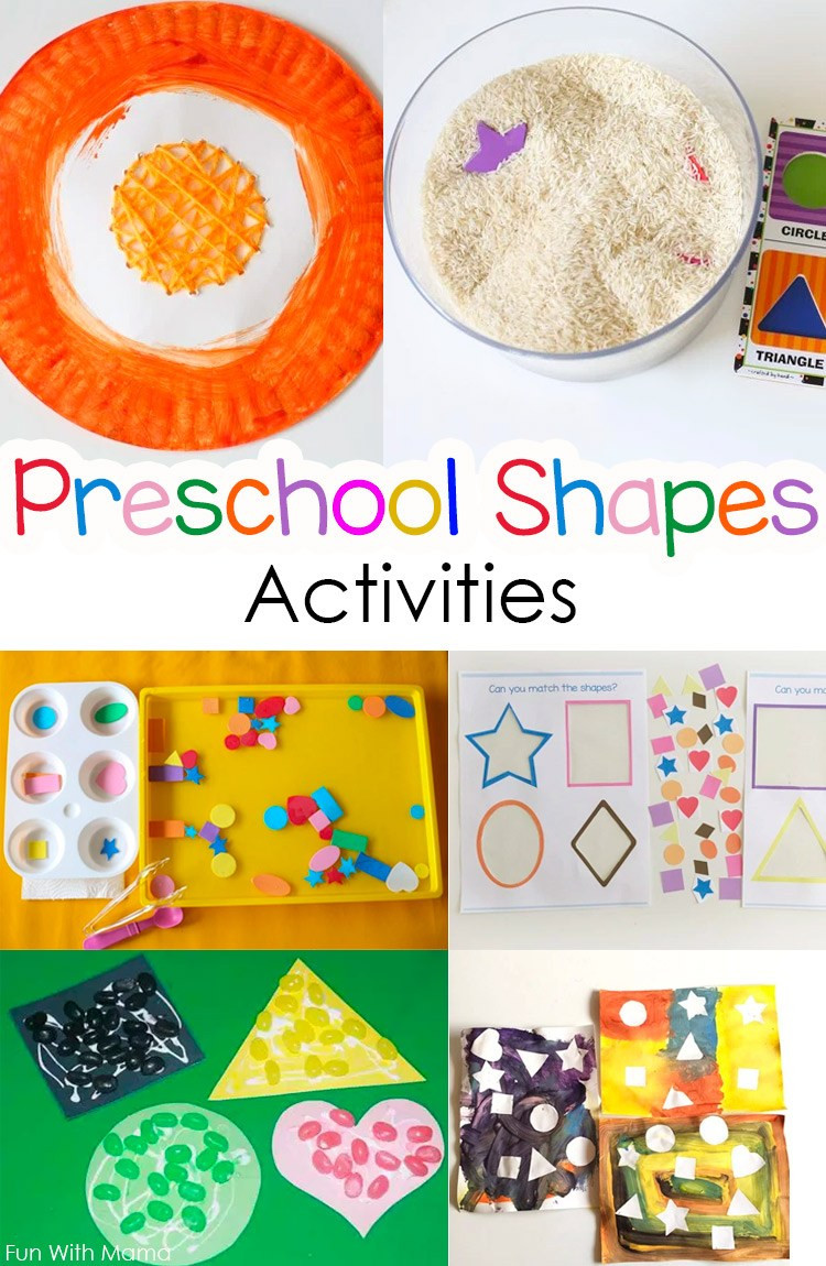 Best ideas about Learning Crafts For Preschoolers . Save or Pin The Best Preschool Shapes Activities and Crafts Fun with Now.