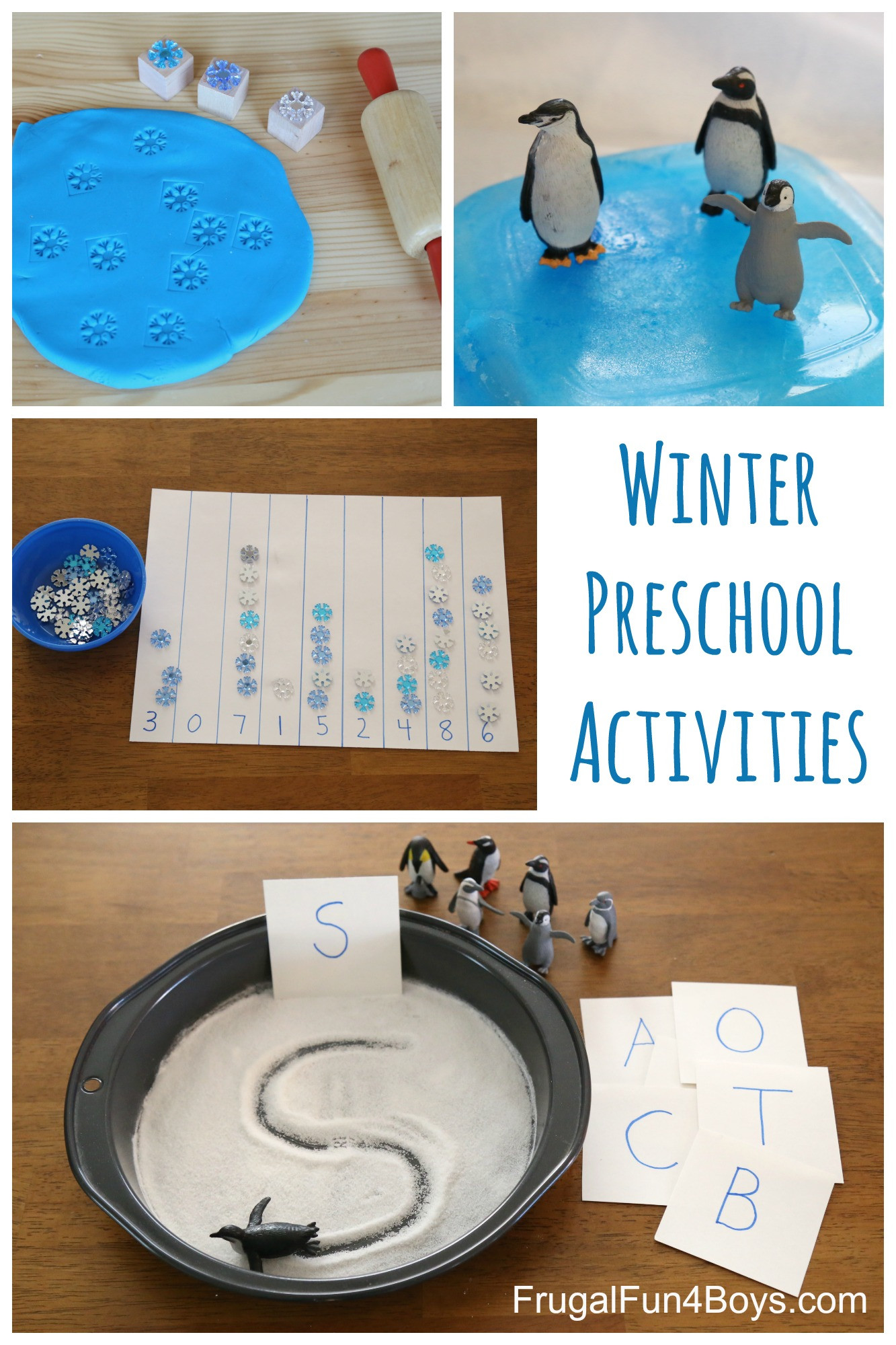 Best ideas about Learning Crafts For Preschoolers . Save or Pin Winter Learning Activities for Preschool Now.