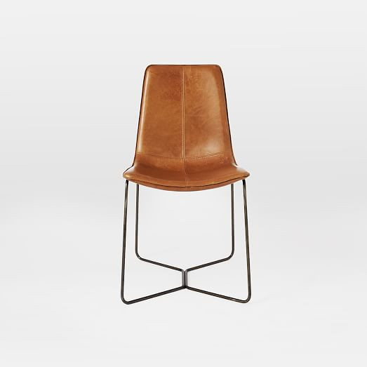 Best ideas about Leather Dining Chair . Save or Pin Slope Leather Dining Chair Now.