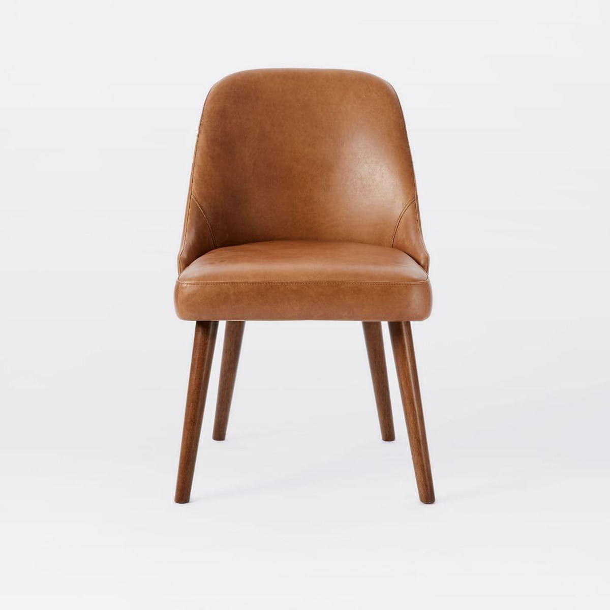 Best ideas about Leather Dining Chair . Save or Pin Mid Century Leather Dining Chair Now.