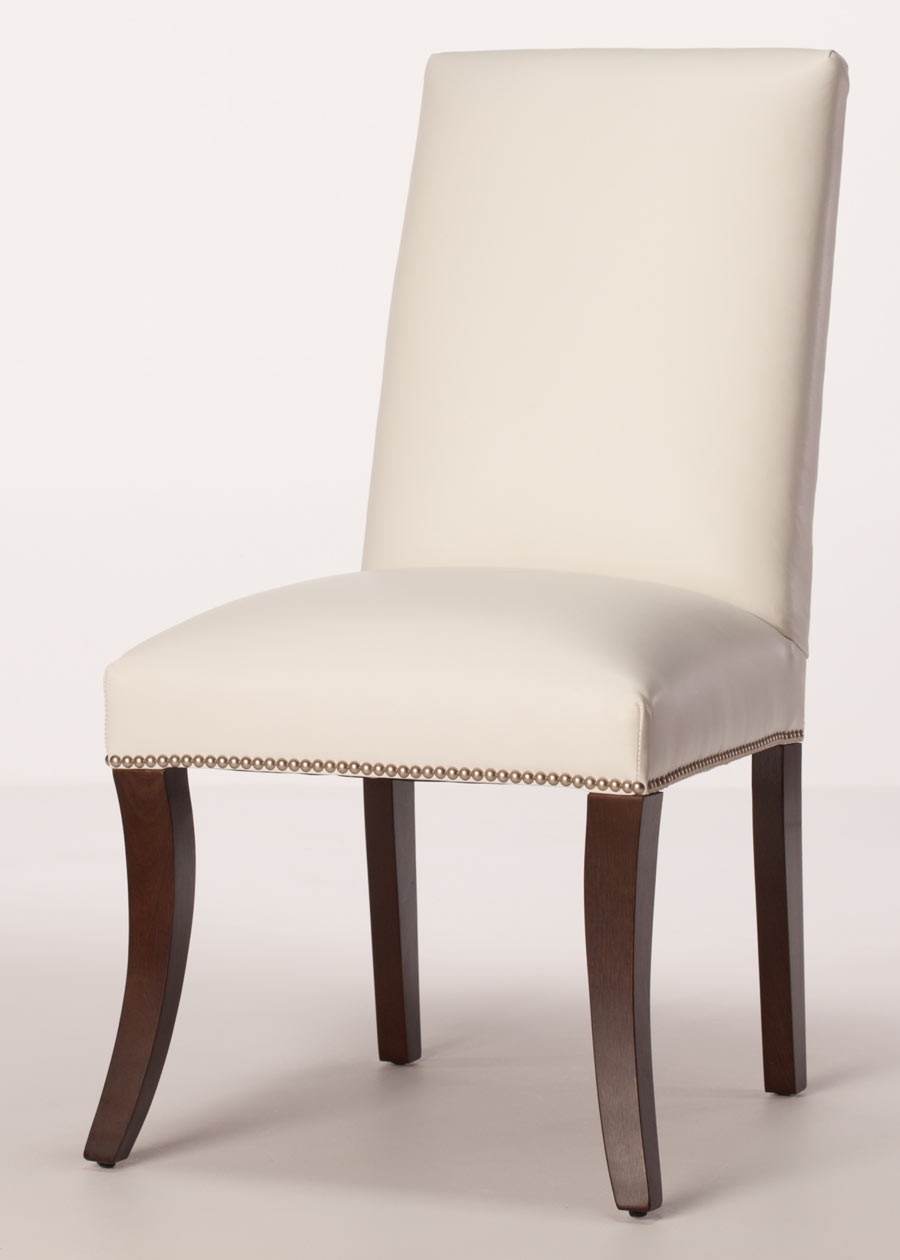 Best ideas about Leather Dining Chair . Save or Pin Sheffield Leather Parsons Dining Chair Now.