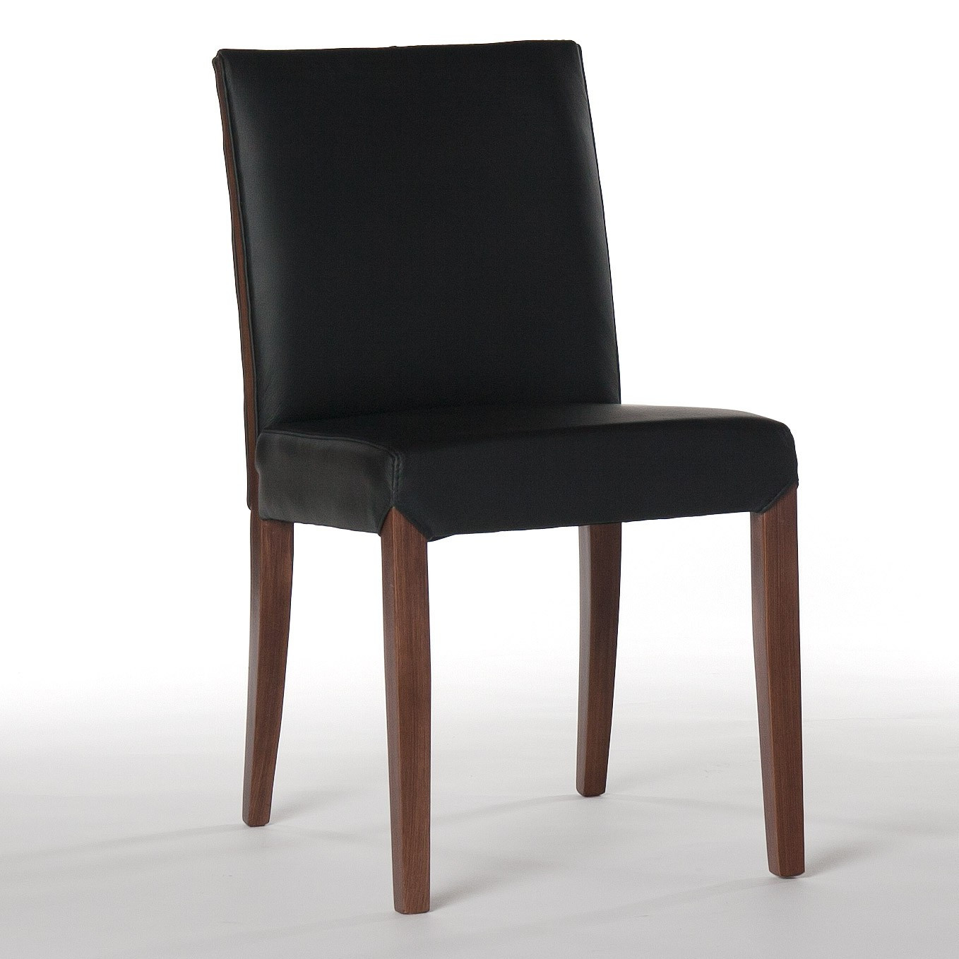Best ideas about Leather Dining Chair . Save or Pin Real Leather Dining Chair in Black Now.