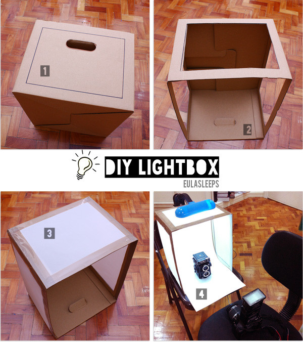 Best ideas about Light Box DIY . Save or Pin eula sleeps Made It Monday DIY Lightbox Now.