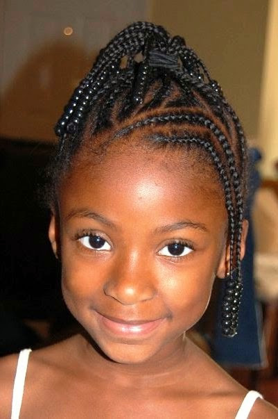 Best ideas about Lil Black Girl Hairstyles Braids . Save or Pin Top 24 Easy Little Black Girl Wedding Hairstyles Now.
