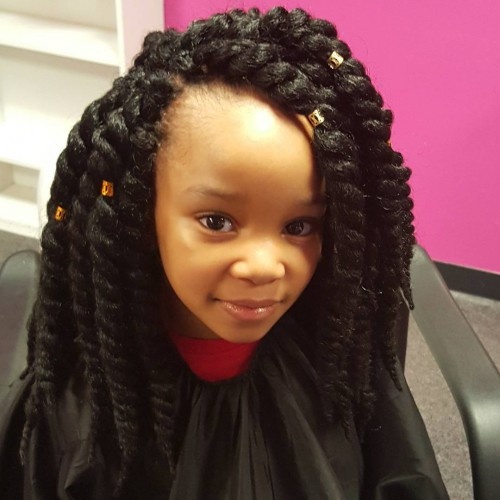 Best ideas about Lil Black Girl Hairstyles Braids . Save or Pin Latest Ideas For Little Black Girls Hairstyles Hairstyle Now.