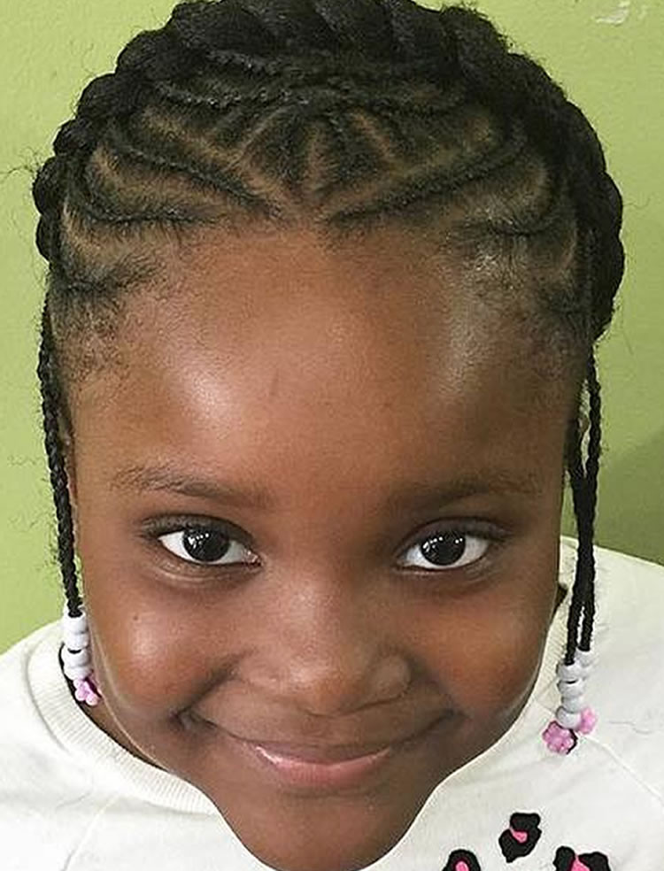 Best ideas about Lil Black Girl Hairstyles Braids . Save or Pin 64 Cool Braided Hairstyles for Little Black Girls – Page 4 Now.