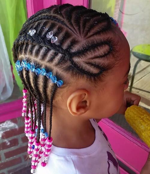 Best ideas about Lil Black Girl Hairstyles Braids . Save or Pin Braids for Kids – 40 Splendid Braid Styles for Girls Now.