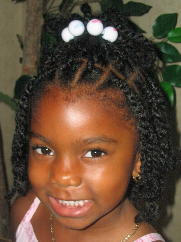 Best ideas about Lil Black Girl Hairstyles Braids . Save or Pin 64 Cool Braided Hairstyles for Little Black Girls – HAIRSTYLES Now.