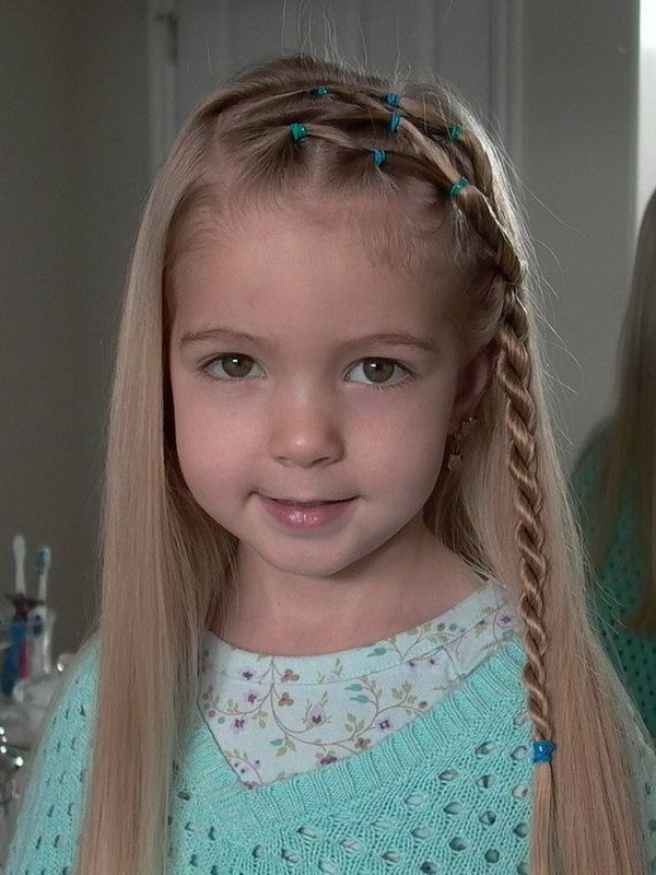 Best ideas about Little Girl Hairstyle . Save or Pin 28 Cute Hairstyles for Little Girls Now.