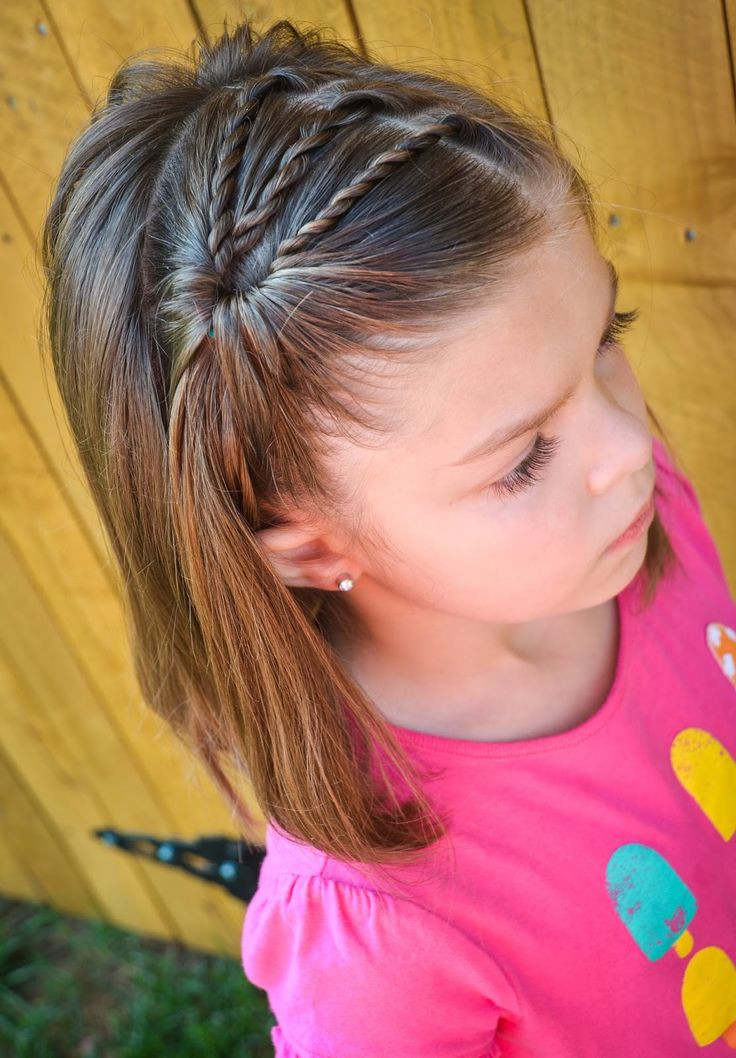 Best ideas about Little Girl Hairstyle . Save or Pin 20 Easy and Cute Hairstyles for Little Girls Now.