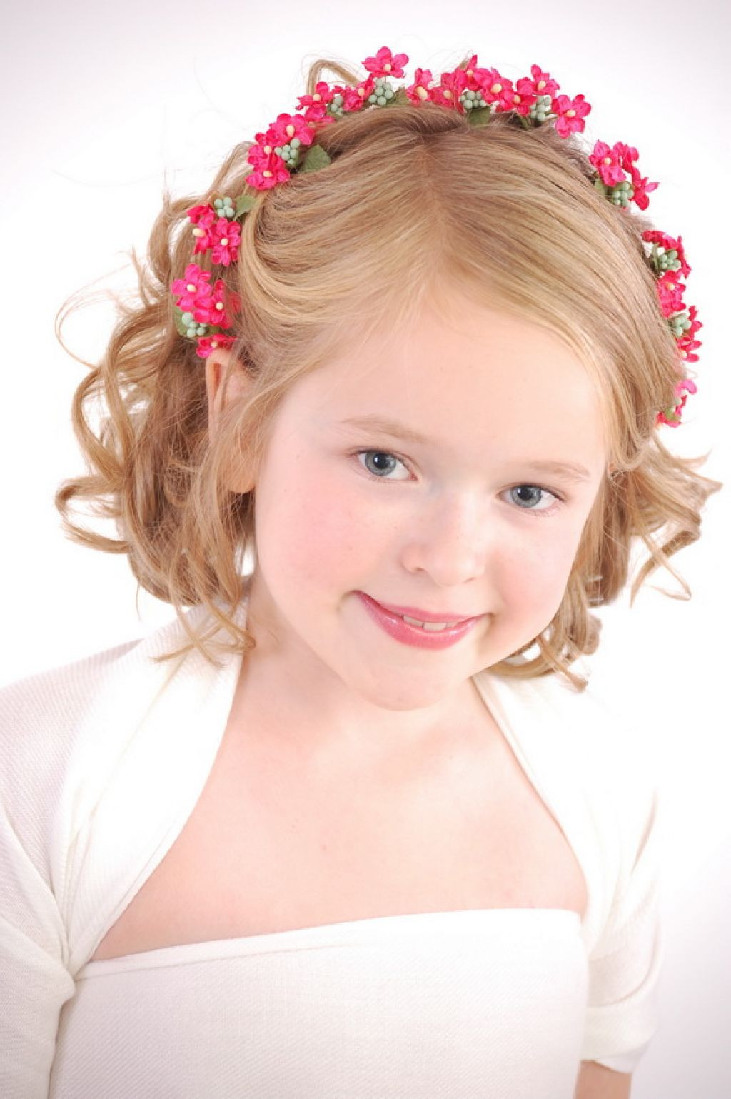 Best ideas about Little Girl Hairstyle . Save or Pin Latest Wedding Hairstyles For Little Kids Girls Now.