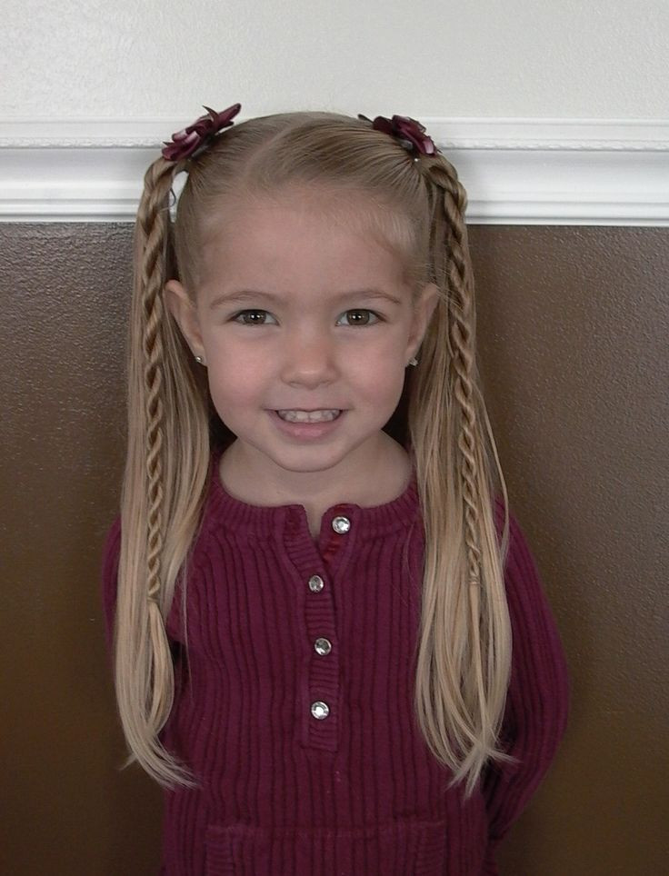 Best ideas about Little Girl Hairstyles . Save or Pin ly best 25 ideas about Easy Little Girl Hairstyles on Now.