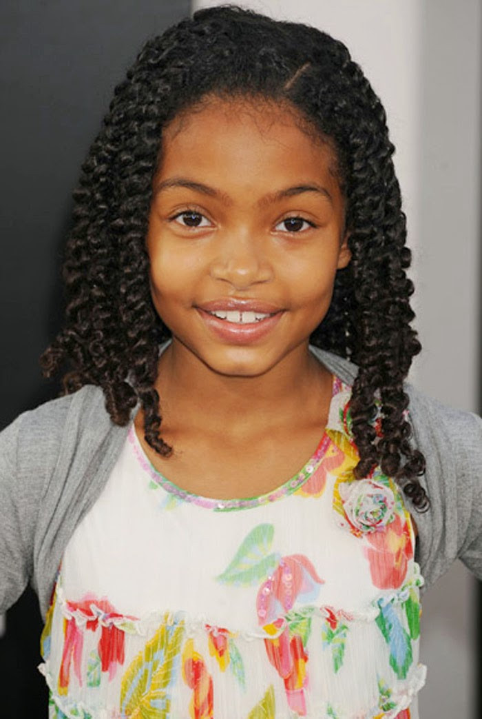 Best ideas about Little Girls Hairstyle . Save or Pin Top 24 Easy Little Black Girl Wedding Hairstyles Now.