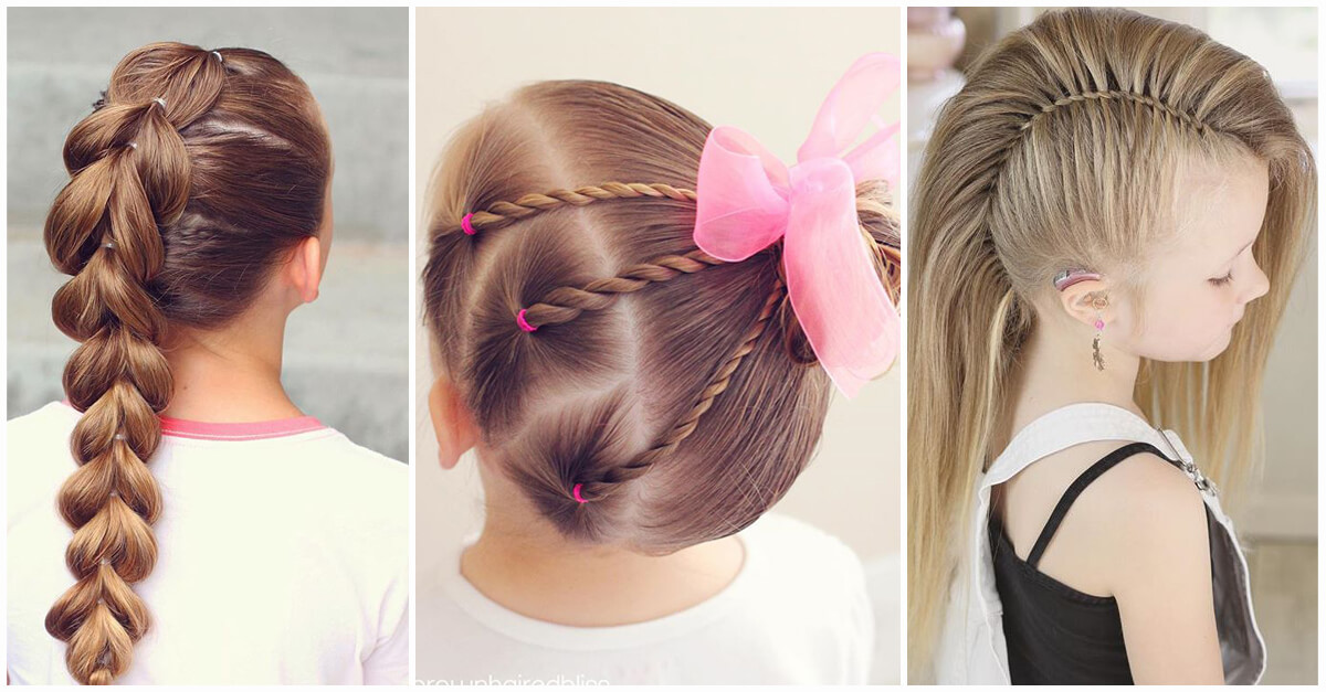 Best ideas about Little Girls Hairstyle . Save or Pin 50 Pretty Perfect Cute Hairstyles for Little Girls to Show Now.