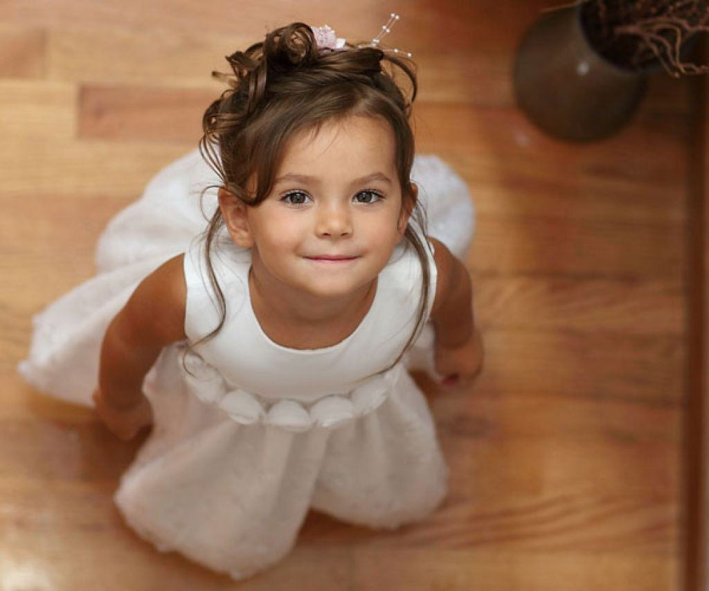Best ideas about Little Girls Hairstyle . Save or Pin Latest Wedding Hairstyles For Little Kids Girls Now.