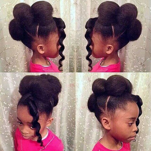 Best ideas about Little Girls Hairstyle . Save or Pin 46 Angelic Hairstyles for Little Black Girls Now.