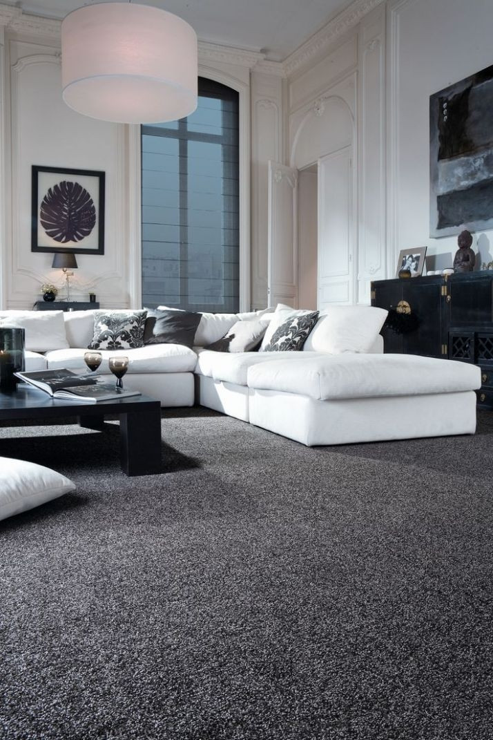 Best ideas about Living Room Carpet . Save or Pin 15 Inspirations of Popular Carpet Colors for Living Rooms Now.