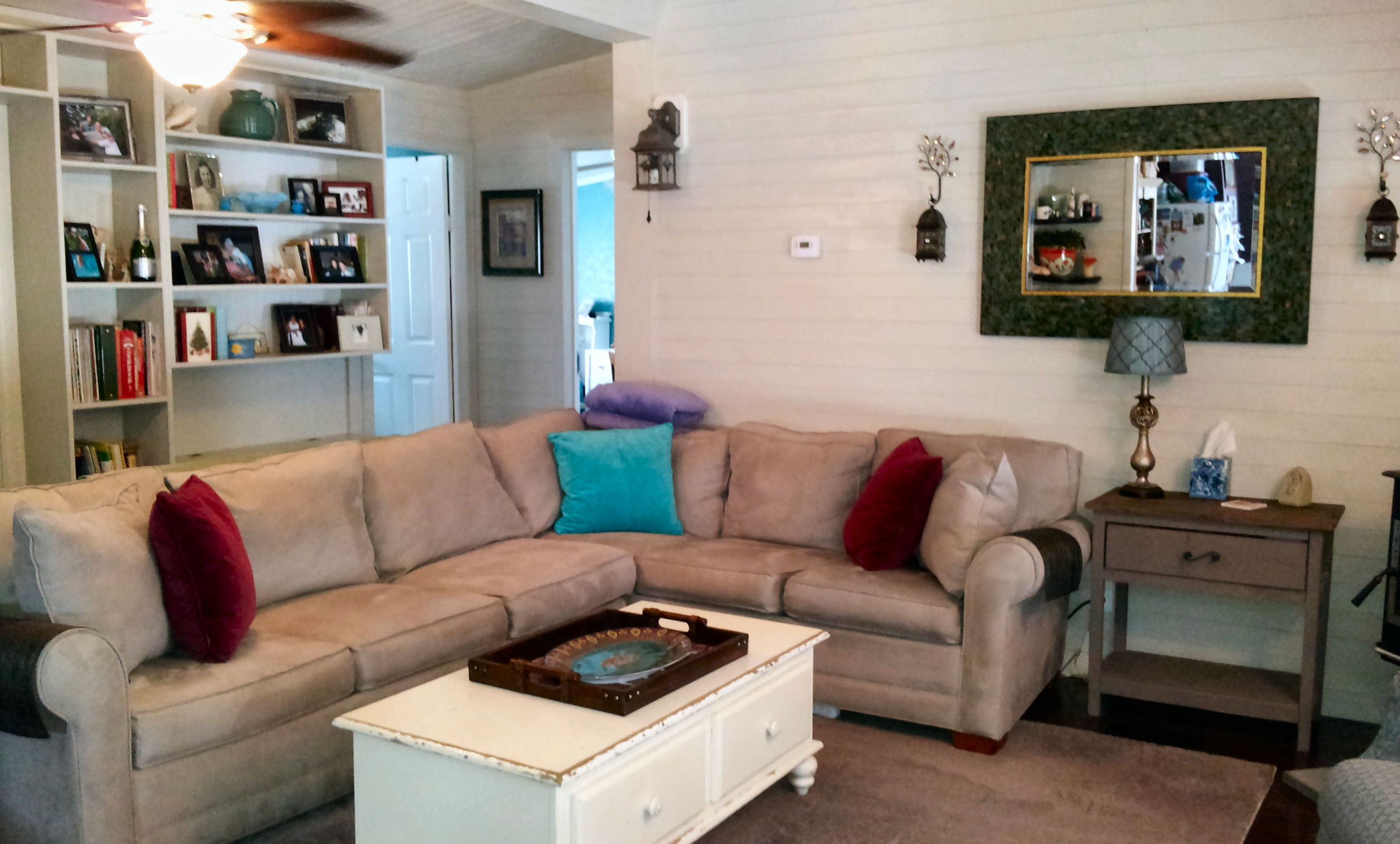 Best ideas about Living Room Remodel . Save or Pin Mobile Home Living Room Remodel The Finale My Mobile Now.