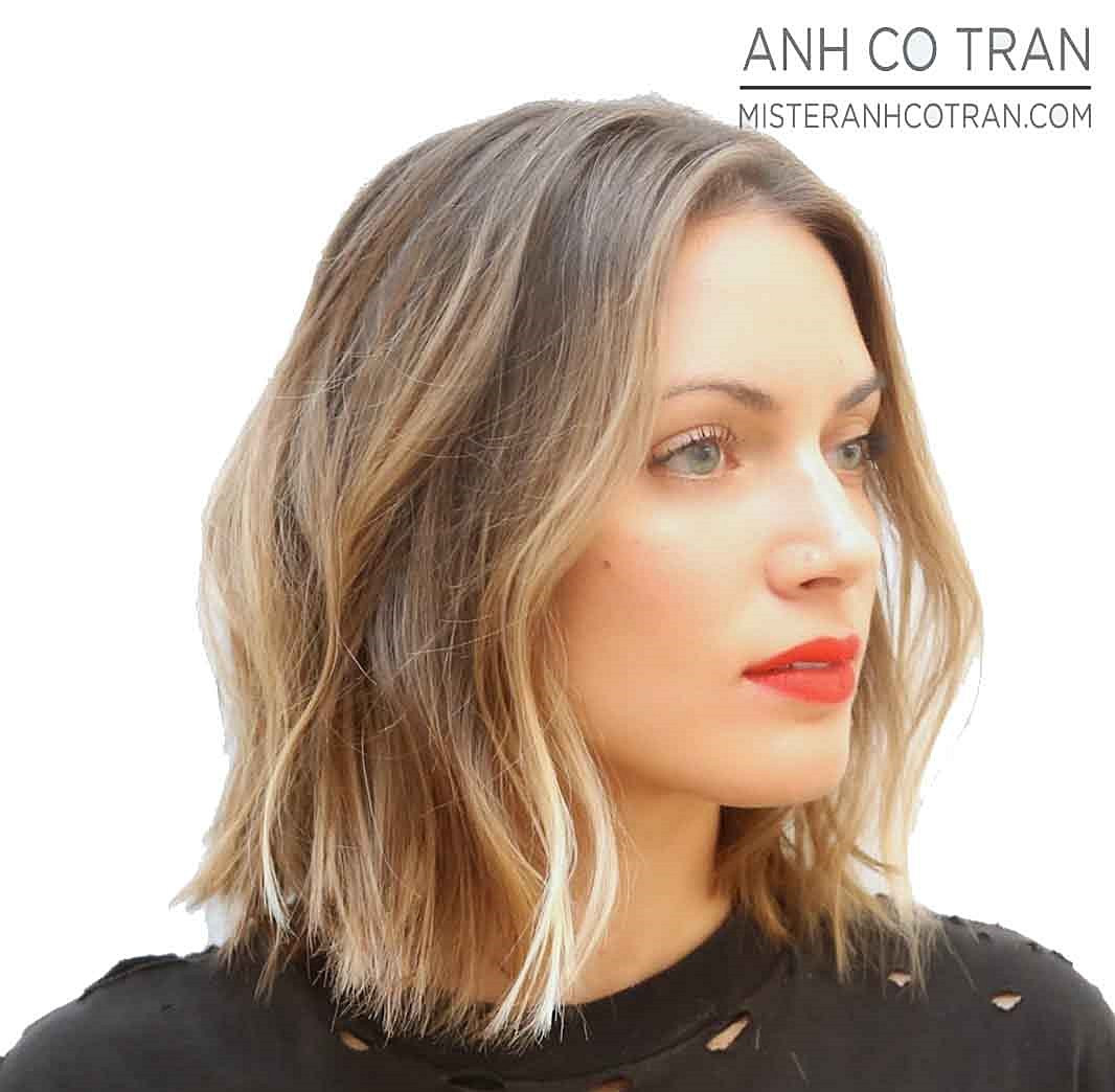Best ideas about Long Wavy Bob Hairstyles . Save or Pin Hair Muse Long Wavy Bob with Highlights Now.
