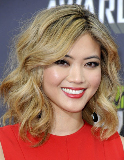 Best ideas about Long Wavy Bob Hairstyles . Save or Pin Lob Asian Hair Now.