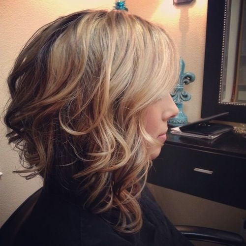 Best ideas about Long Wavy Bob Hairstyles . Save or Pin 10 Stylish Wavy Bob Hairstyles for Medium Short Hair Now.