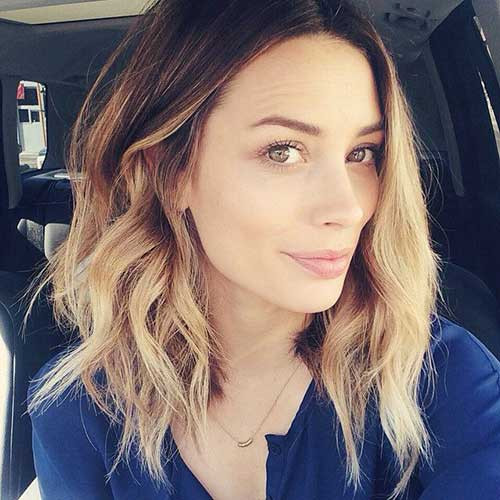 Best ideas about Long Wavy Bob Hairstyles . Save or Pin 20 Cute Long Bob Haircuts Now.