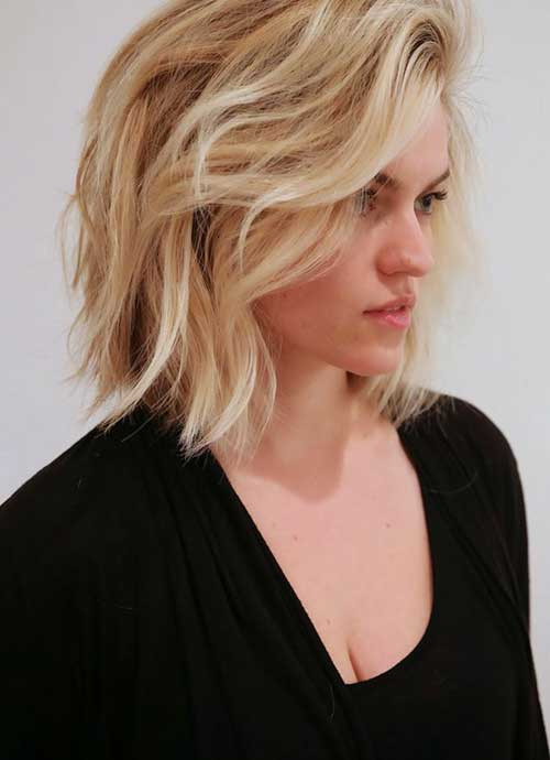 Best ideas about Long Wavy Bob Hairstyles . Save or Pin 25 Best Long Wavy Bob Hairstyles Now.